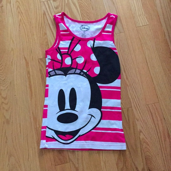 3/$20 - Disney Minnie Mouse lounge/PJ Tank top